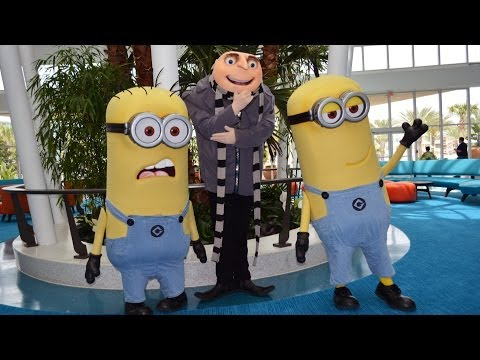 MouseSteps Weekly #95 Universal's Cabana Bay Beach Resort Comprehensive Tour & Minions!