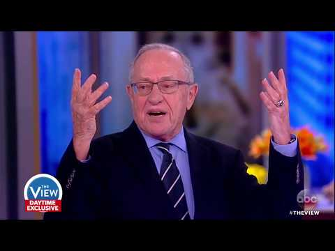 Alan Dershowitz On Why People Assume He Supports Trump | The View