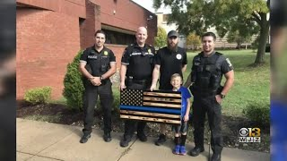 Controversy Over 'Thin Blue Line' Flag In Montgomery County Continues