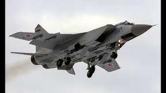 ТОП 10 най-бързи военни самолети.