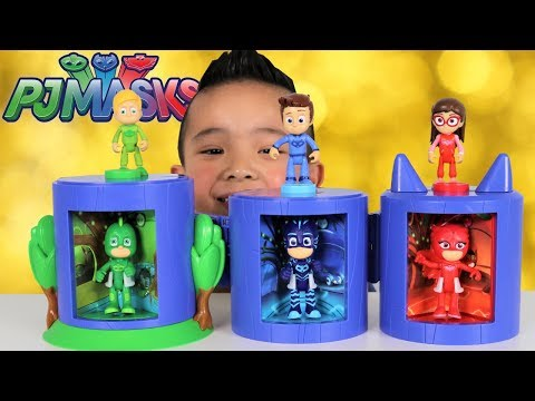 PJ Masks Transforming Headquarters Toys With Greg Connor Ama