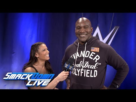 Evander Holyfield talks about his sports-entertainment fandom: SmackDown Exclusive, April 24, 2018