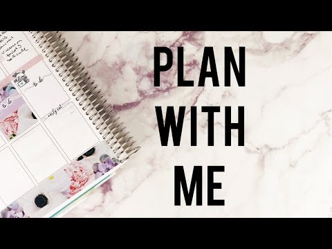 Plan With Me - Erin Condren | Planning With Kristen thumbnail