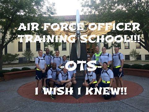 Air Force OTS (Officer Training School)  I Wish I KNEW!!