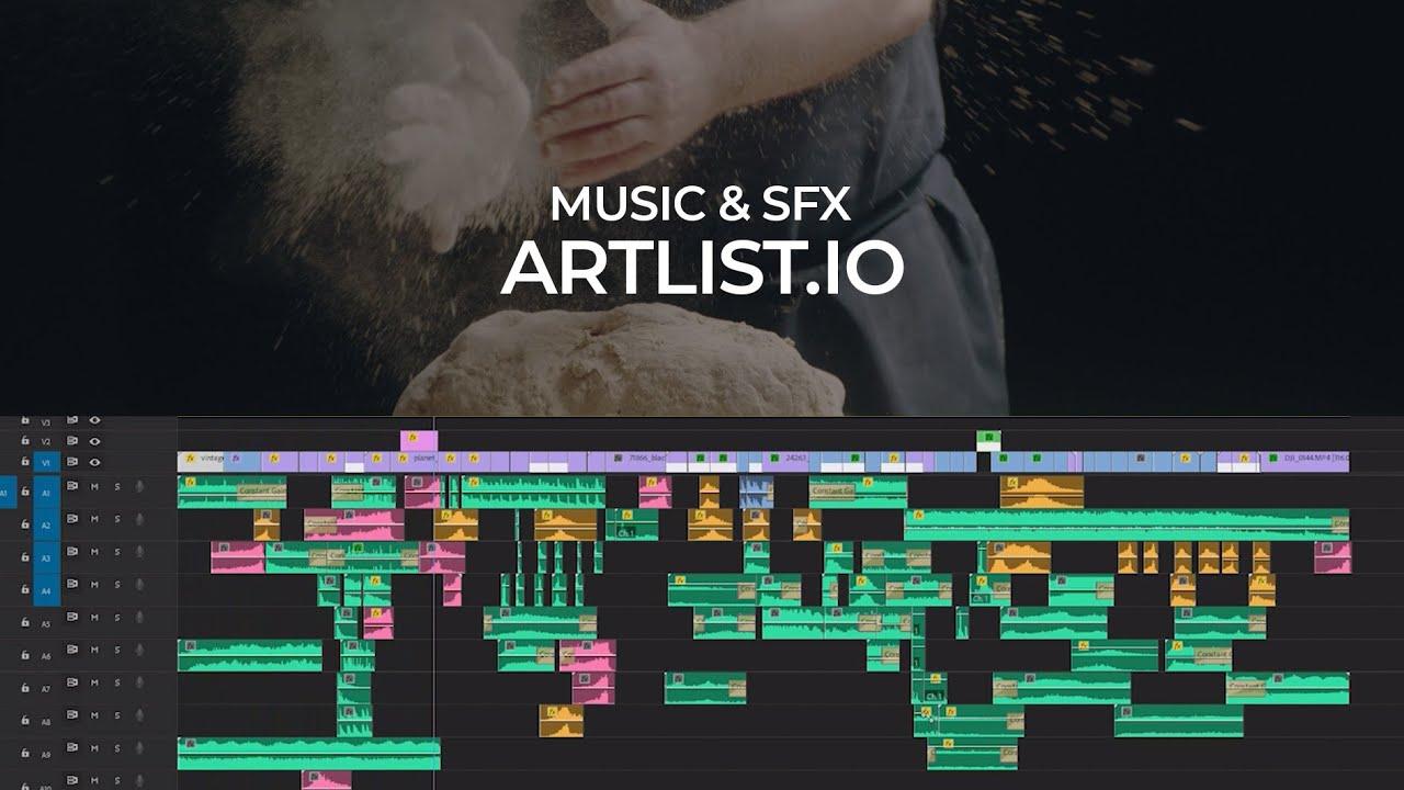 Nguồn sound effect tốt nhất: ARTLIST