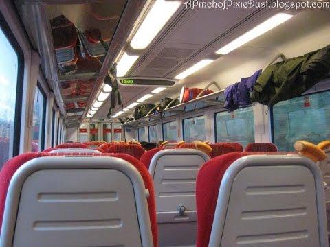 On the Train to LONDON WATERLOO