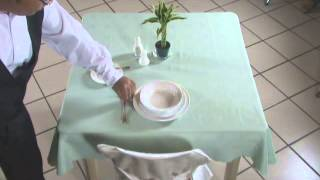 Setting Table(lunch)