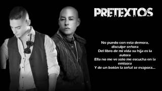 Maluma ft. Cosculluela - Pretexto ( Lyric Video )