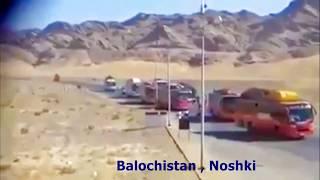 bus brake fail in balochistan