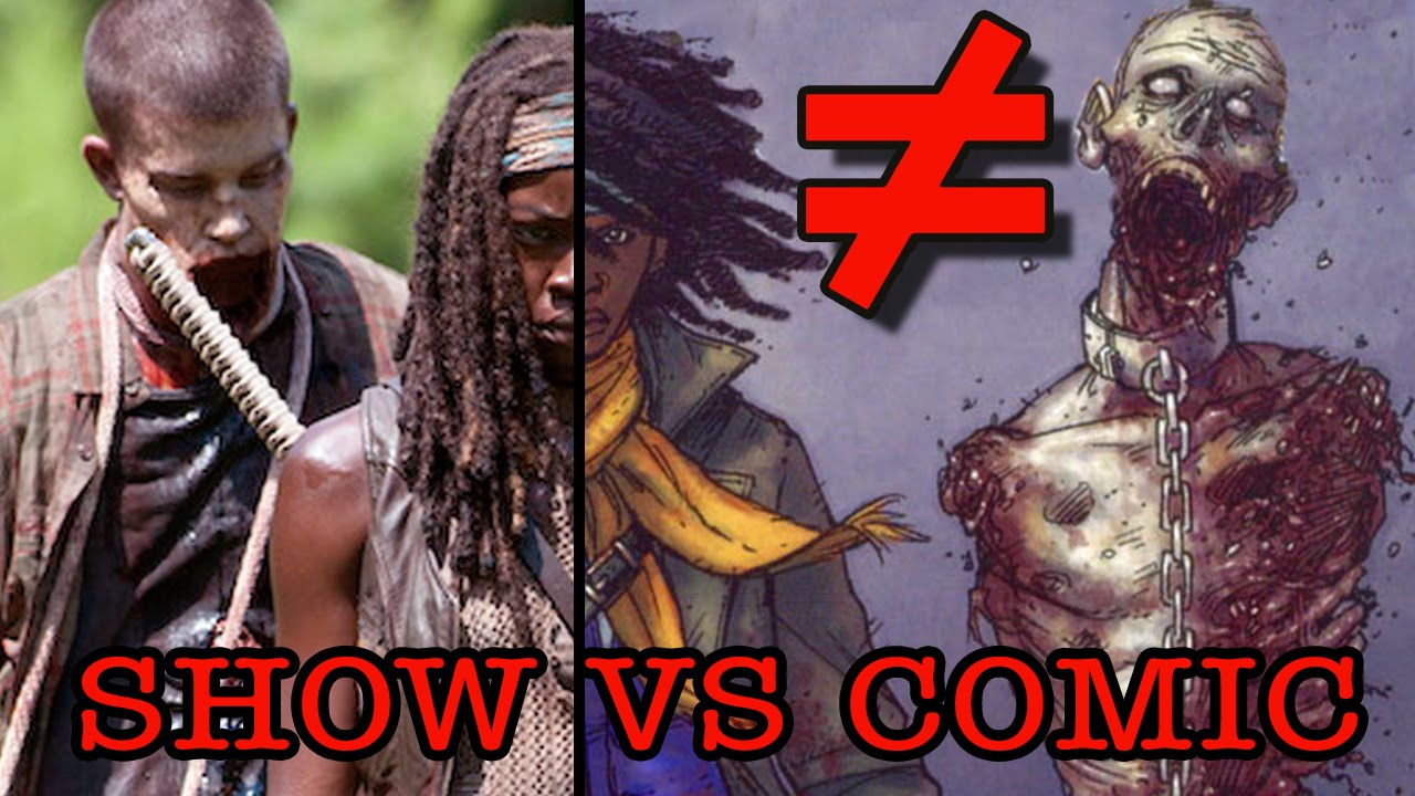 The Walking Dead (Season 3) - What's the Difference?