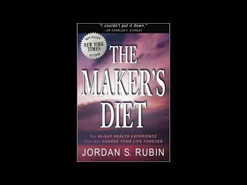 Free Audio Book Preview ~ The Maker's Diet The 40-Day Health Experience ~ Jordan Rubin