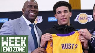Is Lonzo Ball Becoming a BUST!?  WeekEnd Zone