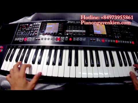 Roland EA7 - Liên Khúc Nhạc Vàng Không Lời  - Nguyễn Kiên Music