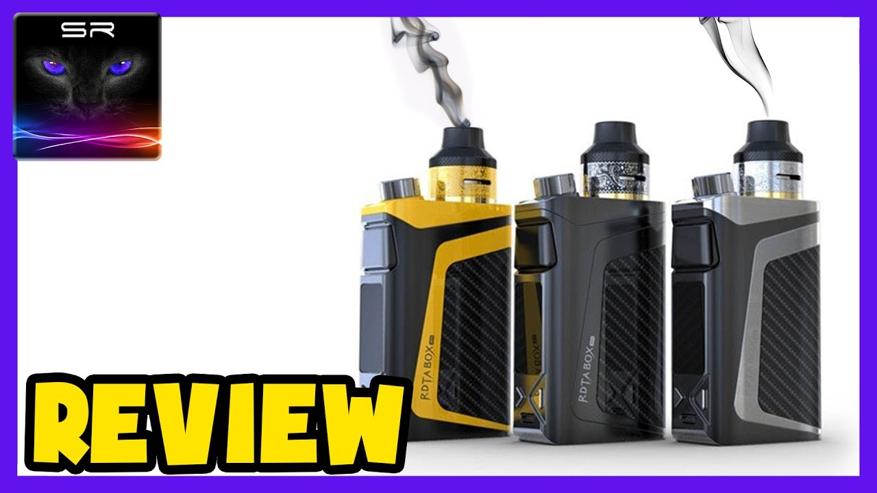 IJoy Powerful 100w E-Cigarette / Vape Box Mod (Vape Lighter) - REVIEW