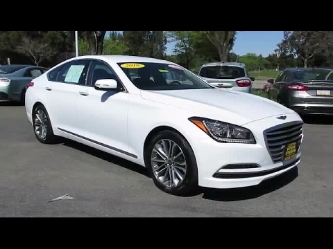 2016 hyundai genesis sedan 3 8 concord san jose fremont hercules sacramento youtube. Black Bedroom Furniture Sets. Home Design Ideas