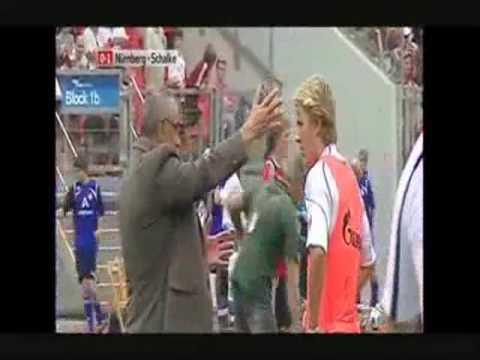 Schalke 04: Felix Magath tobt (1.Bundesligaspiel gegen Nürnberg)