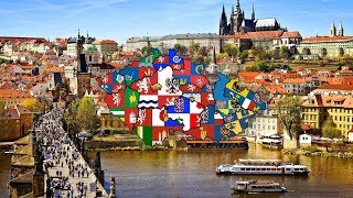 Flag Map [Episode 11]All regions of Czech republic (Speedart) (S1)