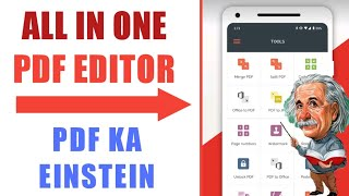All In One Pdf Editor For Android | Best Pdf Editor For Mobile - Convert Any File Format Pdf