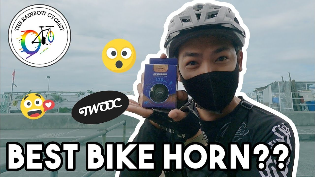 UNBOXING TWOOC ELECTRIC BIKE HORN | HONEST REVIEW | THE RAINBOW CYCLIST
