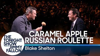 Caramel Apple Russian Roulette with Blake Shelton