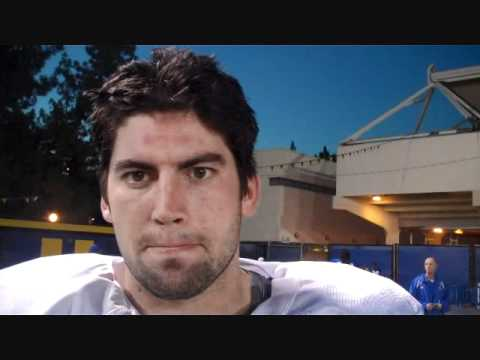 UCLA Junior LB #43 Steve Sloan Post-Practice 10/27