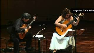 B.Dylan-Blowing in the Wind -ATHENS MEGARON LIVE-Classical Guitars-Evangelos Boudounis-Maro Razi