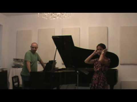 Voix NY Series 001  Masterclass with Mikhail Hallak- Soprano Jade Harkema
