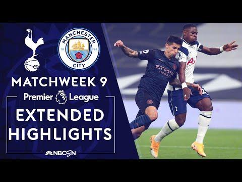 Tottenham v. Manchester City   PREMIER LEAGUE HIGHLIGHTS   11/21/2020   NBC Sports