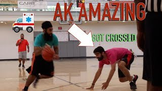 AK AMAZING GOT CROSSED AT SIKH HOOPS.... (NYC) ** NO CLICKBATE**