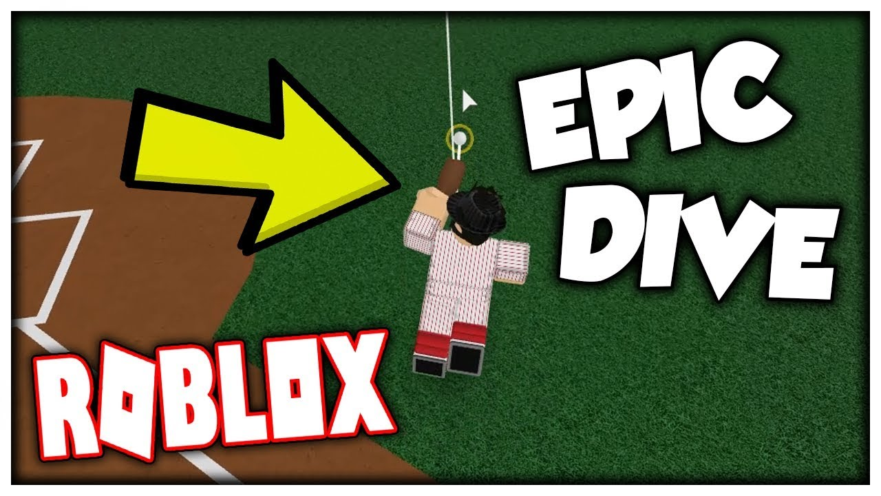 Most Insane Diving Catch Ever Hcbb Roblox Youtube