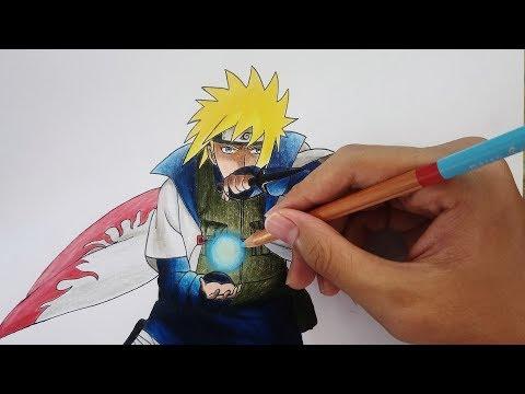 Drawing Minato Namikaze | Naruto
