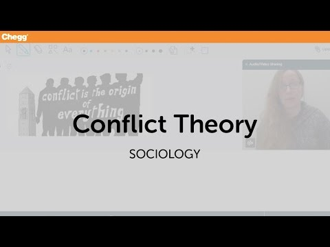 Conflict Theory | Sociology | Chegg Tutors