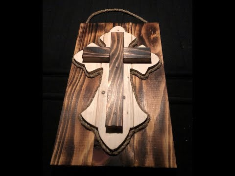 Rustic Wooden Cross Inspired  from Pinterest #2