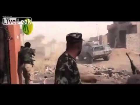 Heavy street fight between ISIS and Iraqi special forces in Baiji, Iraq - Спецназ Ирака против ИГИЛ!
