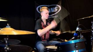 PSY - Gangnam Style / 2 Legit 2 Quit Mashup (featuring MC Hammer) - Drum Cover - Brooks