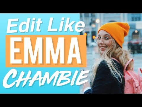 HOW TO EDIT LIKE EMMA CHAMBERLAIN ON IPHONE