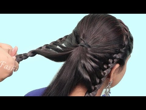 quick-braided-hairstyles-2019-|-step-by-step-hairstyles-for-beginners-|-hair-style-girl-|-hairstyles