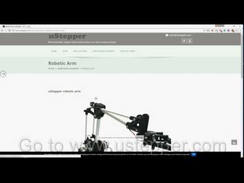 UStepper Robot Arm: 6 Steps (with Pictures)