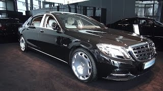 2016 Mercedes-Maybach S500 4Matic. Start Up, Engine, and In Depth Tour.