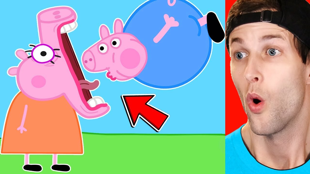 Download Peppa Pig and Roblox Piggy Funny Animation!
