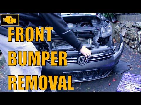 Front bumper removal vw Touran
