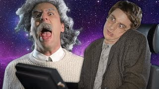 Einstein vs Stephen Hawking. (Subtítulos en Español). Epic Rap Battles of History.