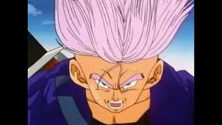 if they set that android free it will be the end of all of us trunks loses it dbz dragon ball z