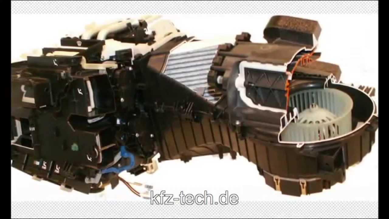 Klimaanlage - Bauteile - YouTube