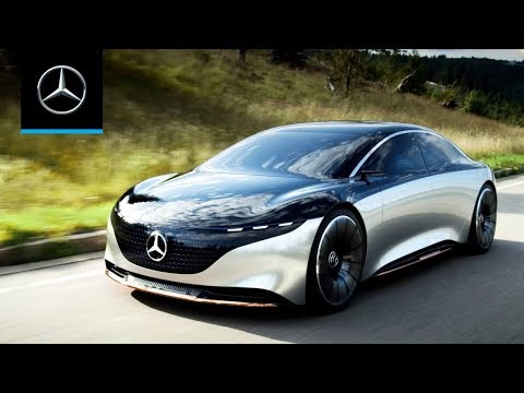 Mercedes-Benz's Vision EQS concept charts a new path for the company's EVs