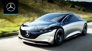 Mercedes-Benz VISION EQS: World Premiere | Trailer