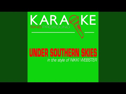 Under Southern Skies (Karaoke Lead Vocal Demo)