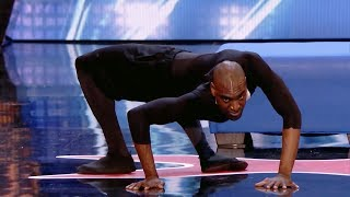 Contortionist Twisty Troy James SHOCKED The Judges on America