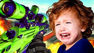 DESTROYING THE WORLDS ANGRIEST KID IN EPIC 1V1! (Black Ops 2 Trolling)