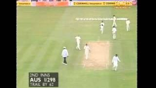 Geoff Boycott and Tony Greig- classic commentary 1997 Ashes